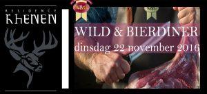 Wild en Bier Diner