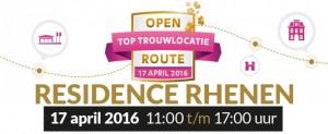 open top trouwlocatie route