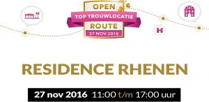 Open top trouwlocatie route