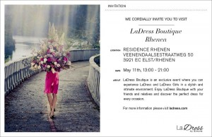 La Dress Boutique bij Residence Rhenen
