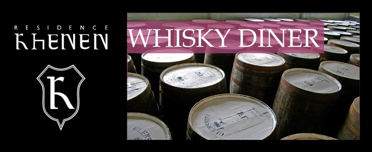 whisky proeverij en diner