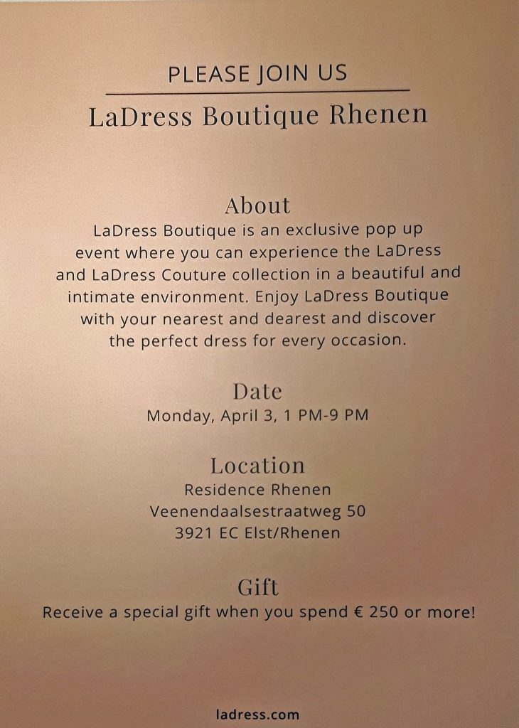 la dress boutique