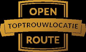Open Toptrouwlocatie Route