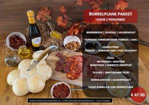 Culinair Kerstpakket Borrelplank