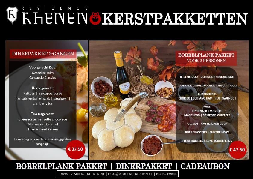 Kerstpakket Residence Rhenen